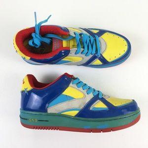 Greedy Genius Blue Sneakers X215669